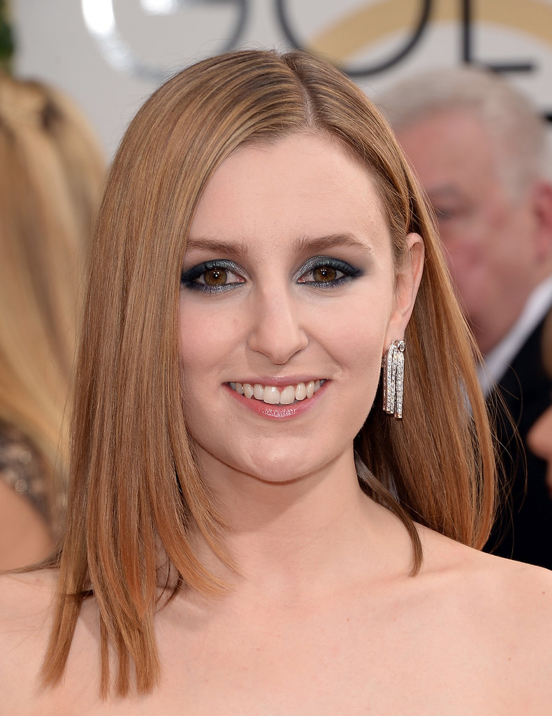 Laura Carmichael showed off a set of Chanel Fontaine earrings.
