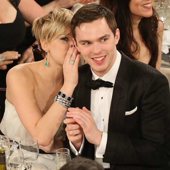 Celebrities Backstage at the Golden Globes 2014