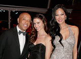 Russell Simmons and Shannon Elizabeth posed with Kimora Lee.