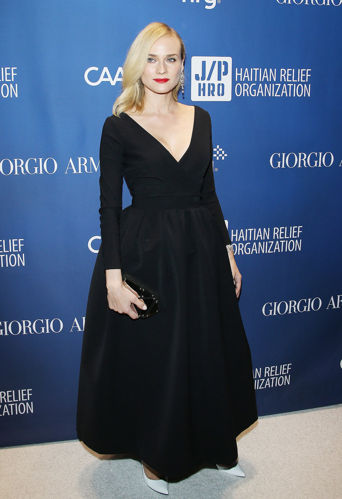 Diane Kruger at the Help Haiti Gala