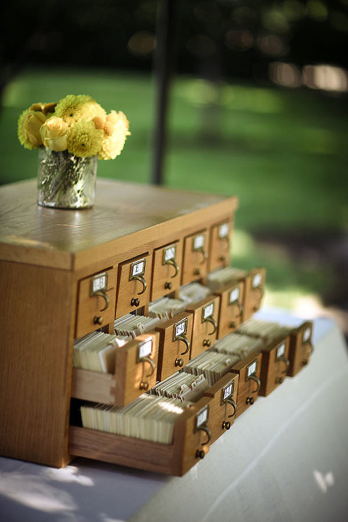 If you think vintage card catalogs are pretty but unpractical, think again. Here are five practical ideas for how to put them to use!