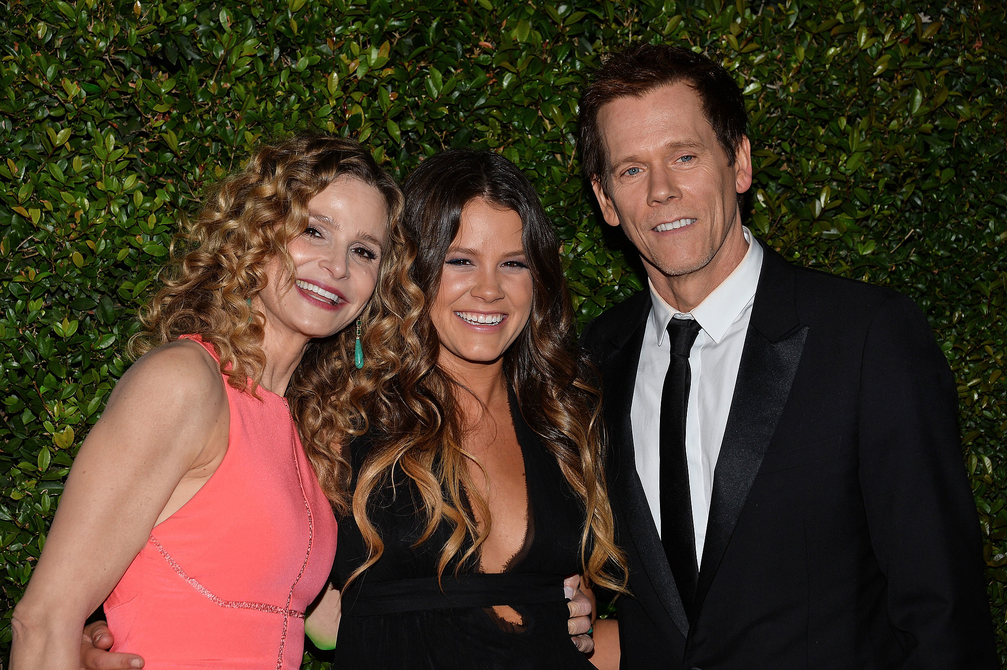 Kevin Bacon and his wife, Kyra Sedgwick, posed with their ...