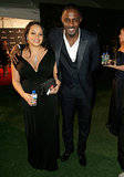 Idris Elba and Nalyana Garth grabbed Fiji waters.