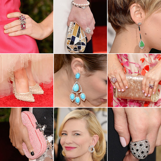 Enough Golden Globes Shoes, Clutches, and Jewels to Make You Swoon