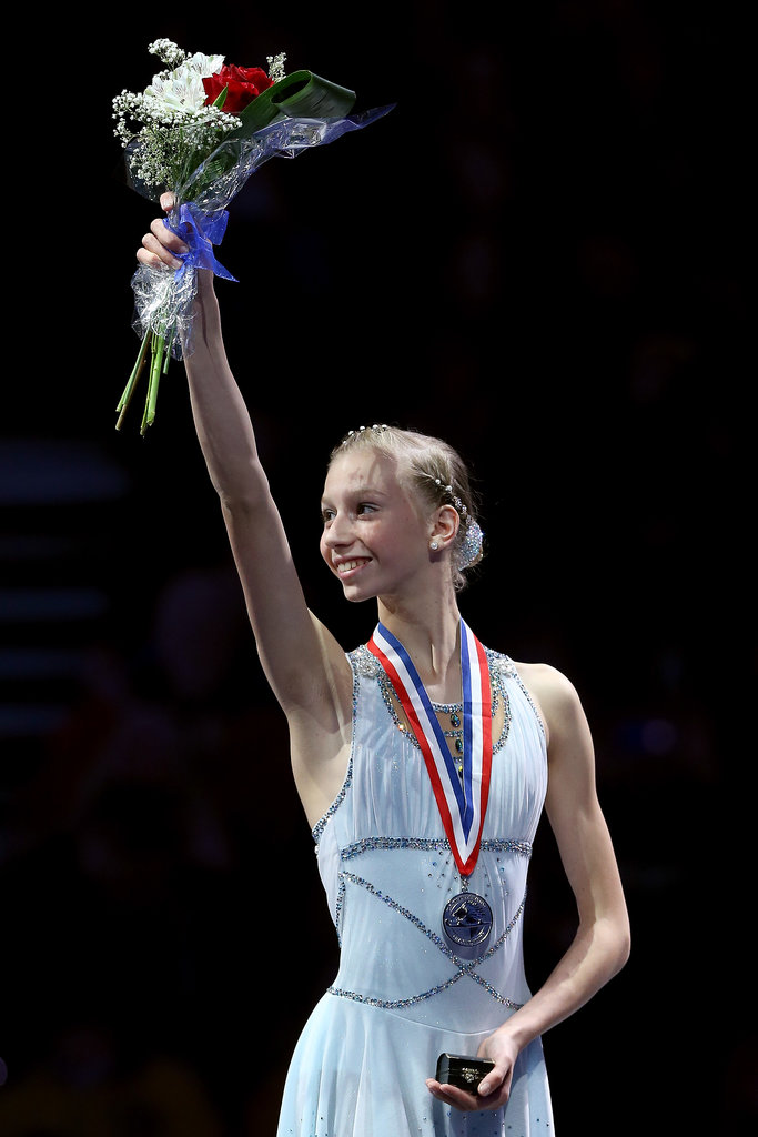 Polina Edmunds took home the silver and will be going to the Olympics.