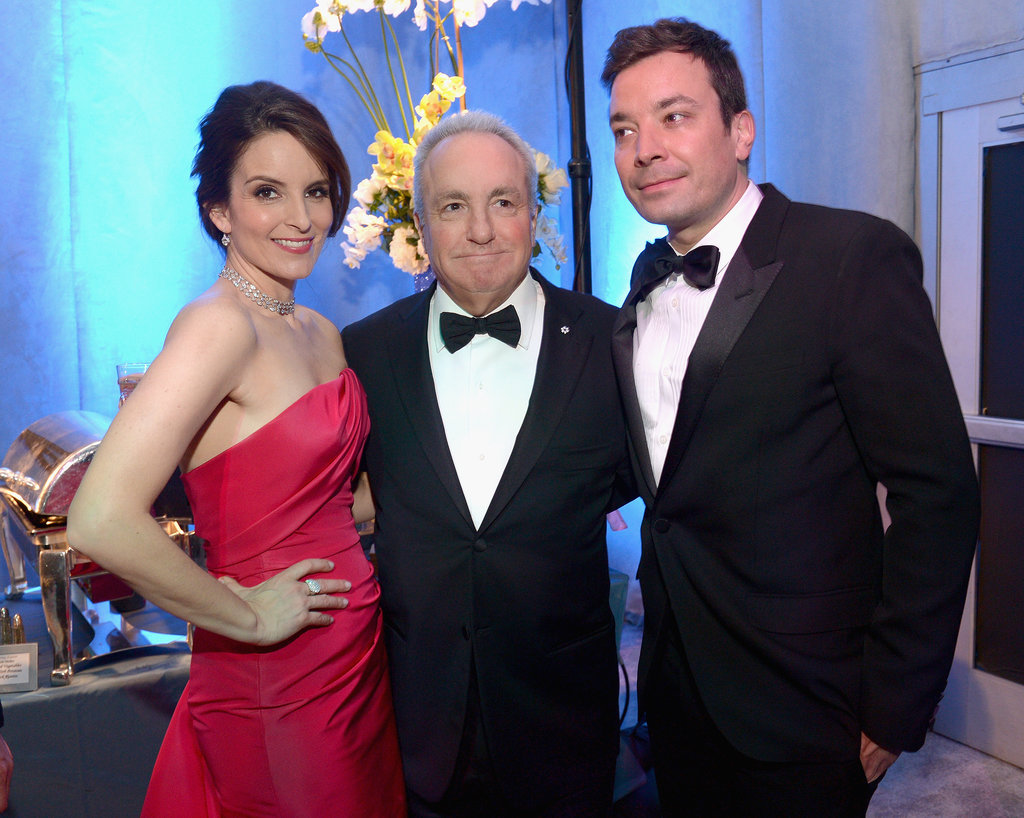 And look at that — Lorne Michaels joined them!