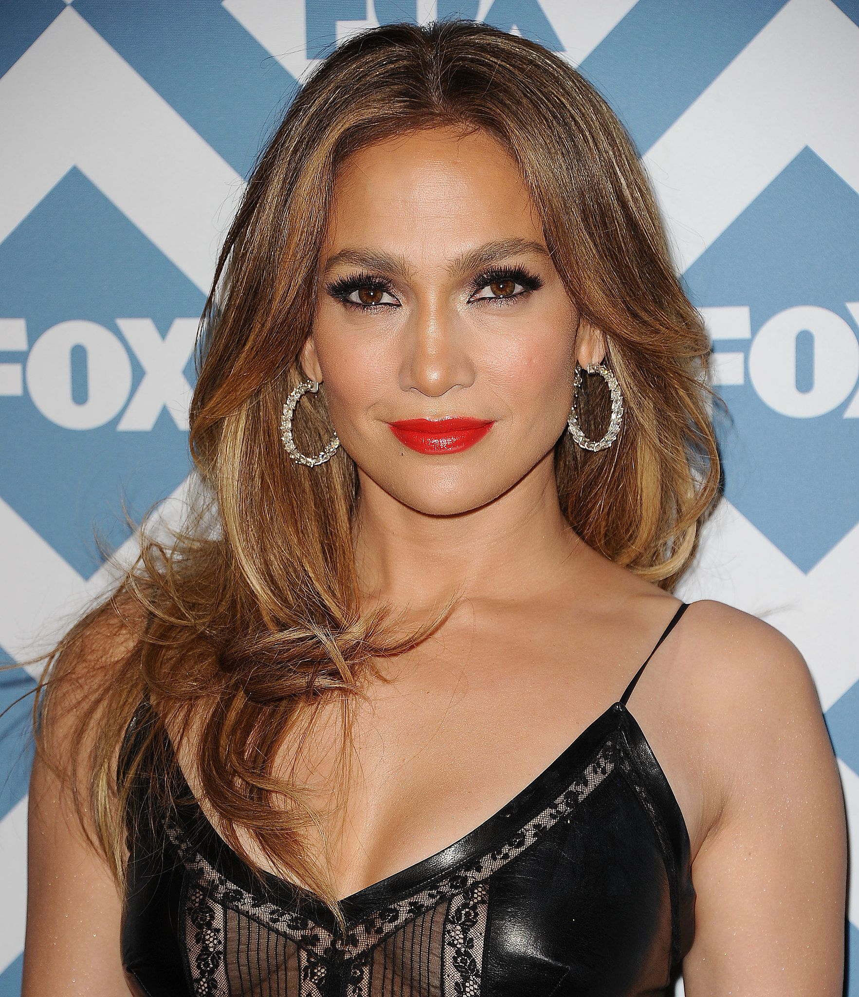 Jennifer Lopez Hair at Fox Winter TCA 2014 | POPSUGAR Beauty