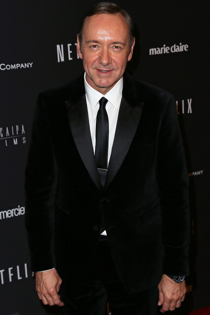 Kevin Spacey has won two SAG Awards for American Beauty, and this year, he's nominated for his role in House of Cards.