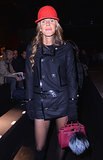 Anna Dello Russo at the Dsquared2 Men's Fashion Week show.