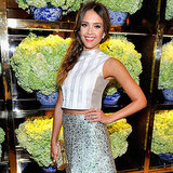 Jessica Alba at the Tory Burch Party | Video