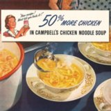Campbell's Chicken Noodle Soup Vintage Ads