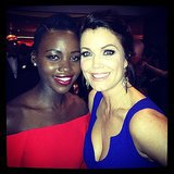 """#GoldenGlobes Checklist: meet @BellamyYoung and let her know she is FIERCE!"" Source: Instagram user lupitanyongo"