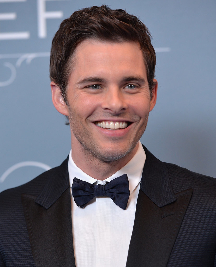 James Marsden looked dapper.