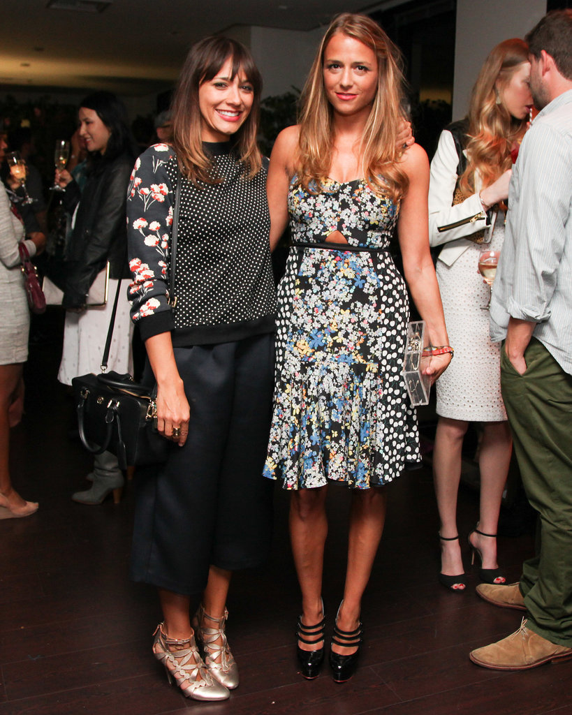 Rashida Jones and Charlotte Ronson at the Vogue Eyewear/CFDA Design Series.