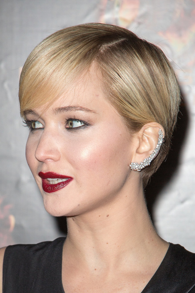 It was hard to miss the Ana Khouri sparkler Jennifer Lawrence selected for the Catching Fire premiere in Paris.
