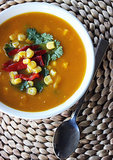 Santa-Fe-Style Vegetable Soup