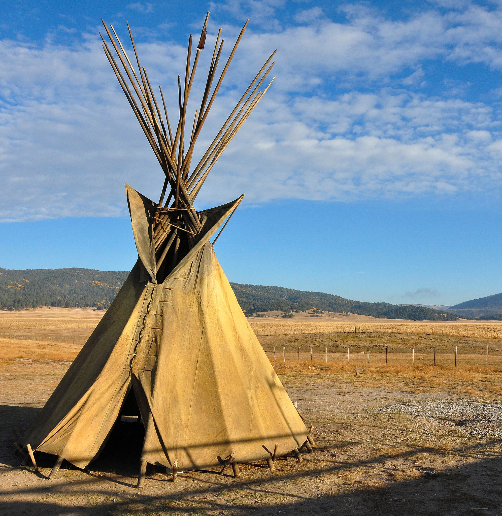 Spend a Night in a Teepee