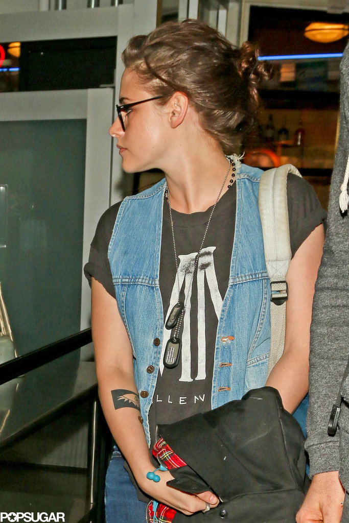 Kristen Stewart Jets Off to Sundance in Style