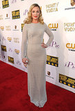 Elisabeth Rohm wore a sparkly dress on the red carpet.