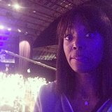 "Host Aisha Tyler snapped a picture during rehearsals, joking, ""I'm not nervous. Shut up."" Source: Instagram user aishatyler"