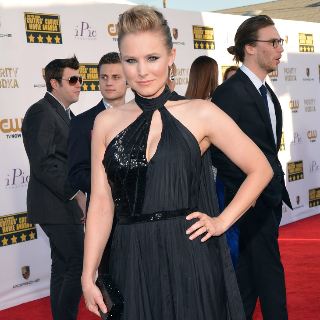 Kristen Bell Dress at Critics' Choice Awards 2014
