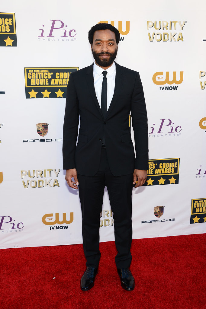 Chiwetel Ejiofor looked handsome in a sleek suit.
