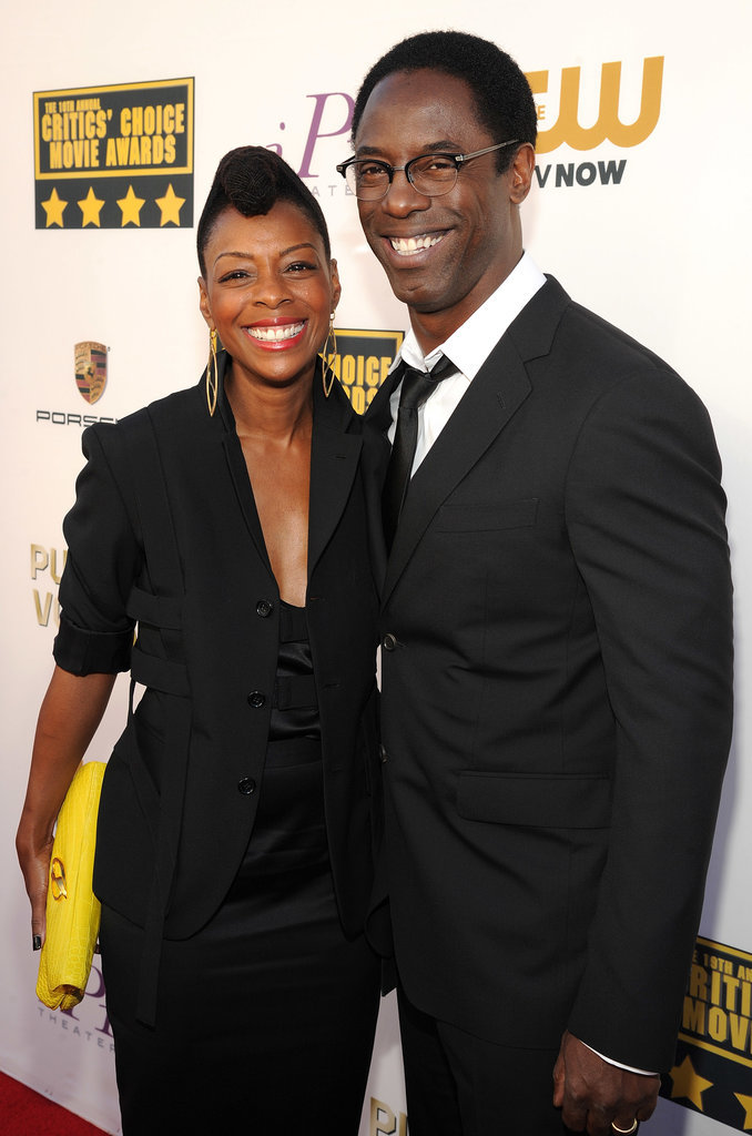 Isaiah Washington and Jenisa Marie Garland stepped out for the show.