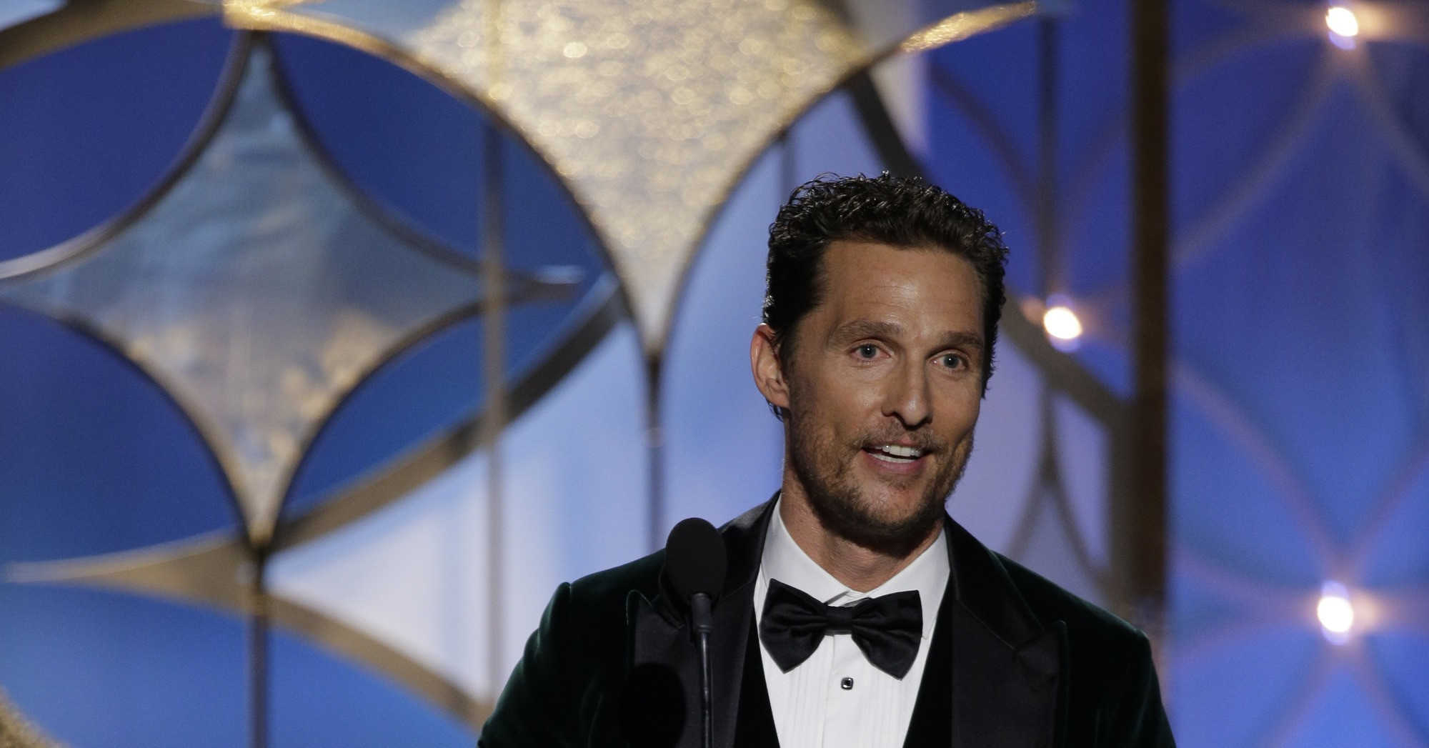 Add a Ron Woodruff Mention | Matthew McConaughey's Recipe For an