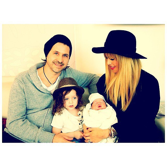 Rachel Zoe showed off her family of four's first family photo in honor of throwback Thursday.  Source: Instagram user rachelzoe