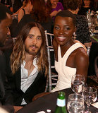 Lupita Nyong'o and Jared Leto met up for a snap.