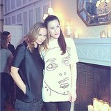 Stella McCartney and Liv Tyler weren't the only happy faces in this shot. Source: Instagram user stellamccartney