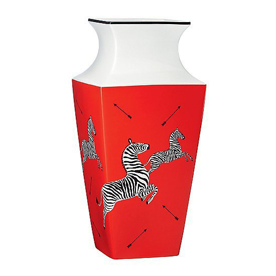 A classic Scalamandre vase ($90) is perfect for all those roses she'll be receiving come Valentine's Day.