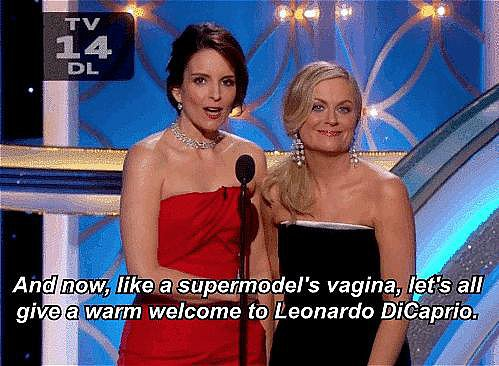 Leo's Golden Globes Welcome