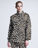 Stella McCartney Leopard-Print Cocoon Coat ($535, originally $1,530)