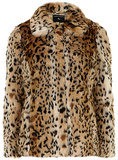Dorothy Perkins Faux Fur Leopard Coat ($89, originally $119)