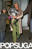 Beyoncé's Arms Are the Best Place For Blue to Stay Warm