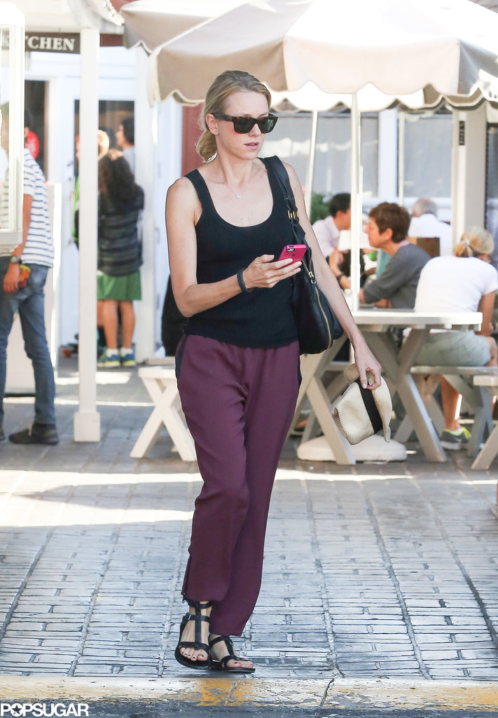 Naomi Watts was out and about in LA on Thursday.