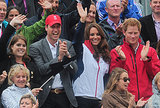 At the Olympics, Prince William, Kate Middleton, and Prince Harry cheered Zara on!