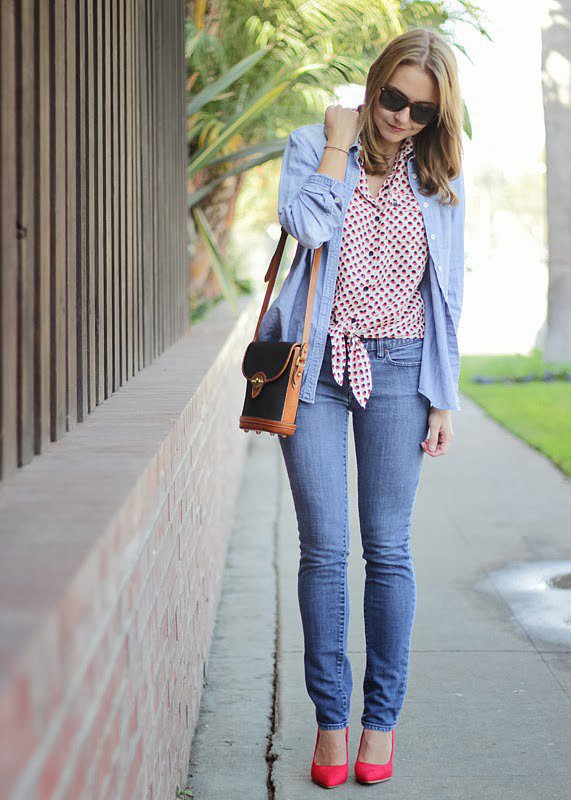 Congrats, The Steele Maiden! Layering a button-up over a button-up? We couldn't have done it better ourselves!