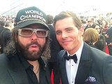 James Marsden posed for a picture with Judah Friedlander. Source: Twitter user JudahWorldChamp