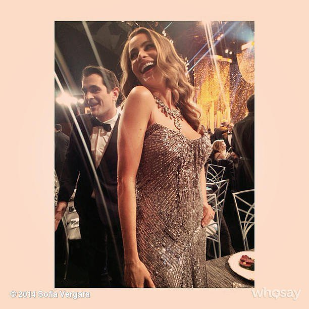 Sofia Vergara was ready for the party to start. Source: Instagram user sofiavergara