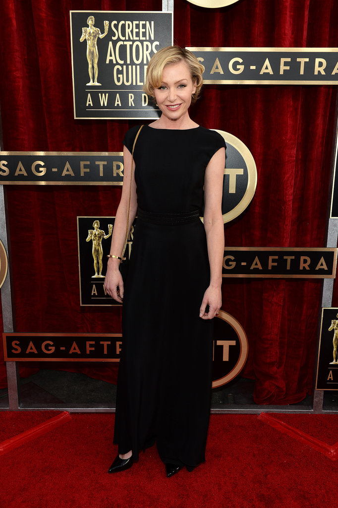 Portia de Rossi arrived for the SAG Awards.