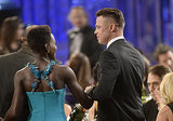 Everyone Wants a Piece of Brad Pitt at the SAG Awards