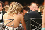 Bradley Cooper and Suki Waterhouse shared a private moment.