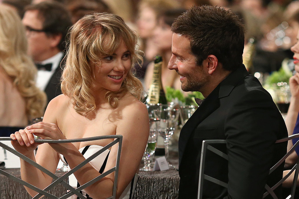 Bradley Cooper only had eyes for Suki Waterhouse during the SAGs ceremony.