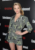 Natalie Dormer looked quirky and fabulous on the red carpet.