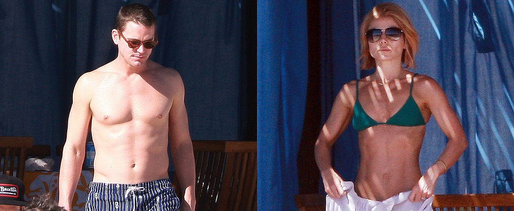 Kelly Ripa and Matt Bomer Are Ready For Summer