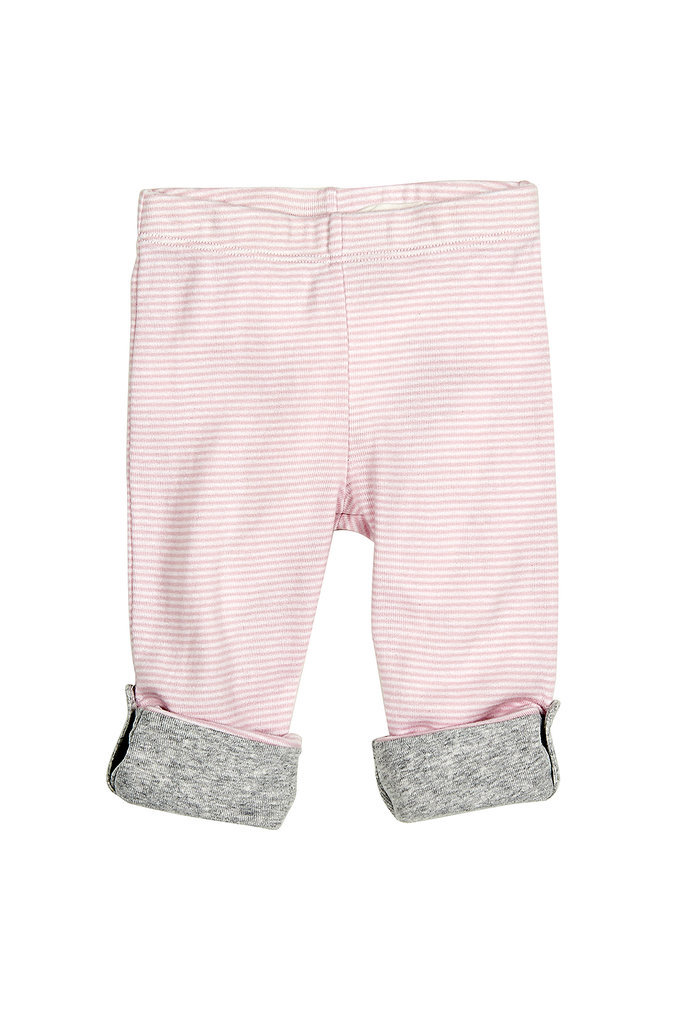 Striped Roll-Up Pants