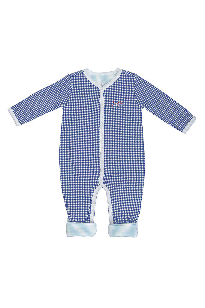 Blue Gingham Sleepster
