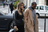 Kim and Kanye Bring Their Love to Paris
